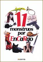 Presentación en BiblioCafé de Monstruos por EnCaRgo, de El cuaderno rojo)