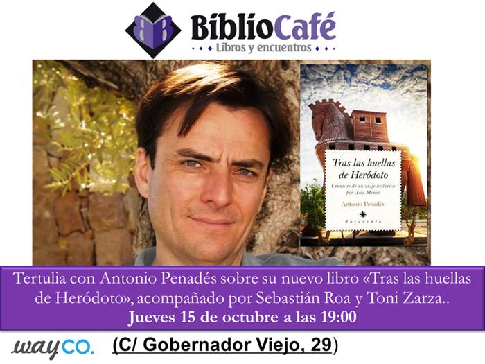 Invitacioìn tertulia BiblioCafeì
