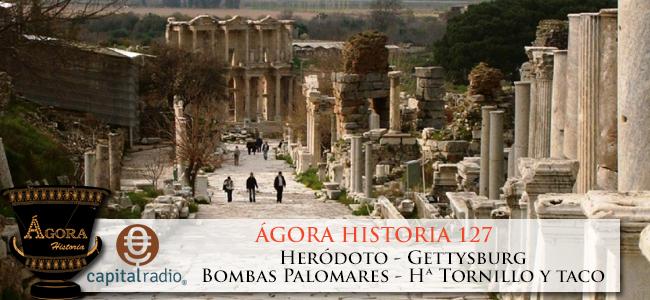 Entrevista radiofónica en Ágora Historia
