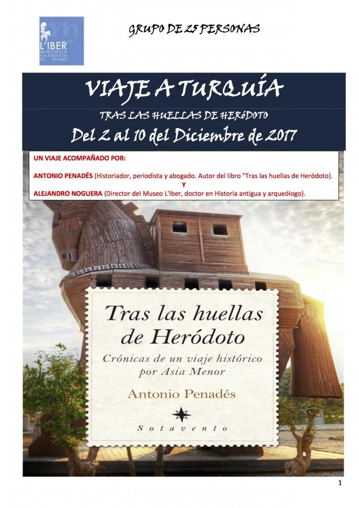 Programa Viaje Tras las huellas de Hero+¼doto - Museo L'Iber
