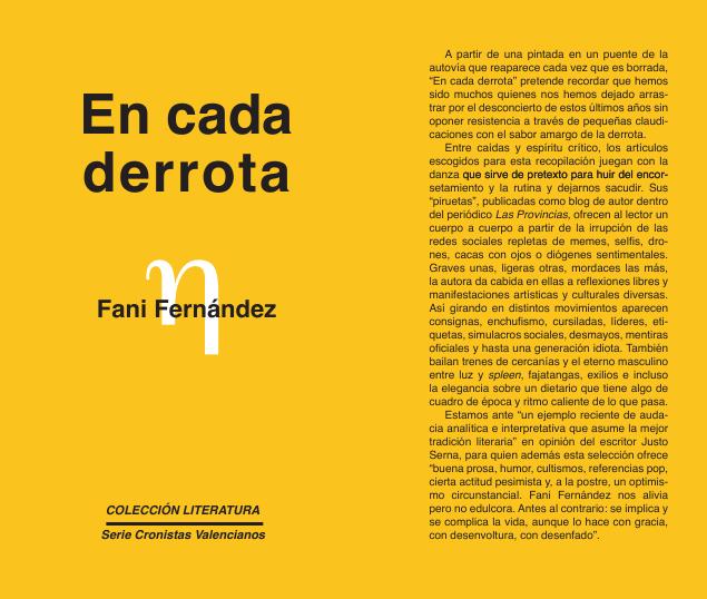 """""""En cada derrota"""" y Valencia Negra"""