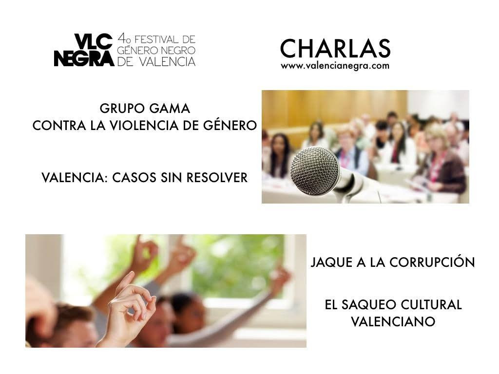 Tertulia en Festival Valencia Negra